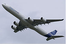 A340-600, 380 places (3 classes)