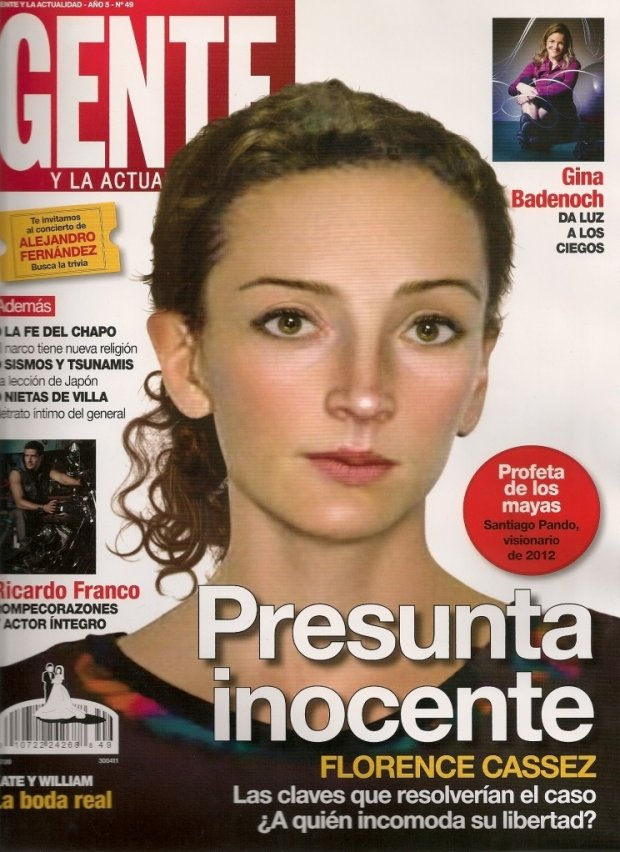 Vouverture de magazine mexicain