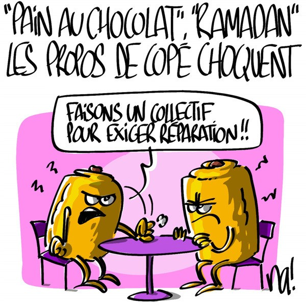 pain au chocolat ramadan les propos de jean fran ois cop choquent agoravox le m dia. Black Bedroom Furniture Sets. Home Design Ideas